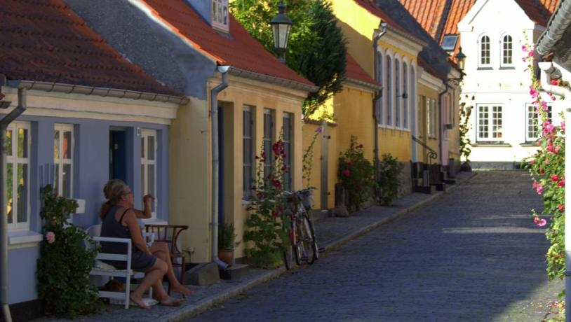 Ærøskøbing on the island Ærø