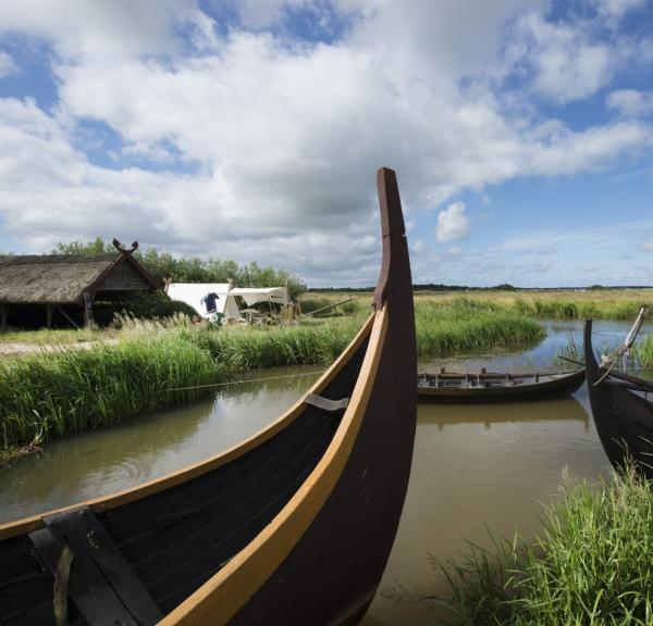 Bork Viking Harbour in Denmark