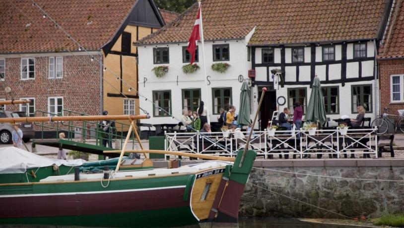 Harbour front in Ribe