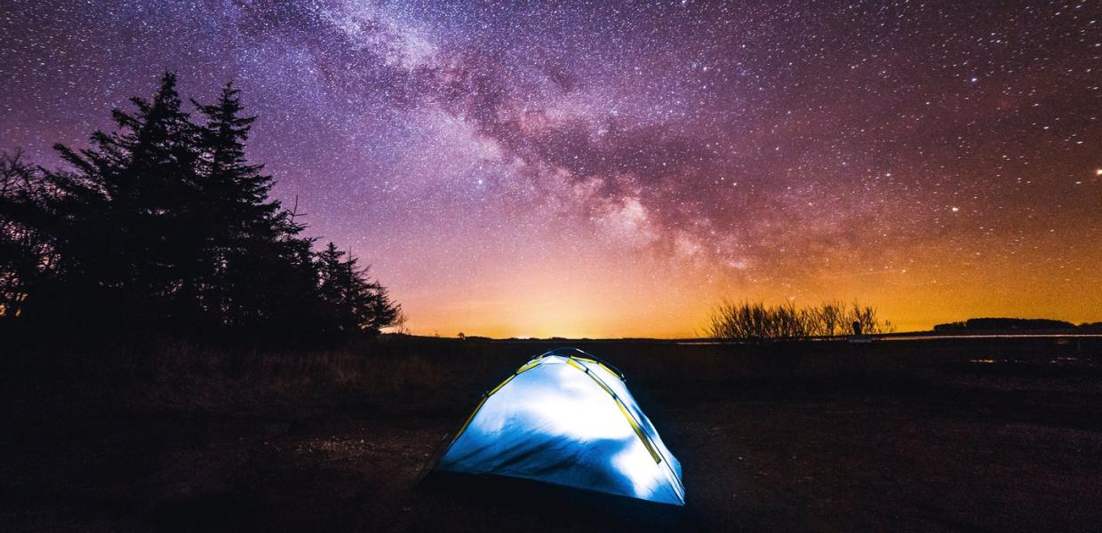 Sleeping under the stars in Thy National Park