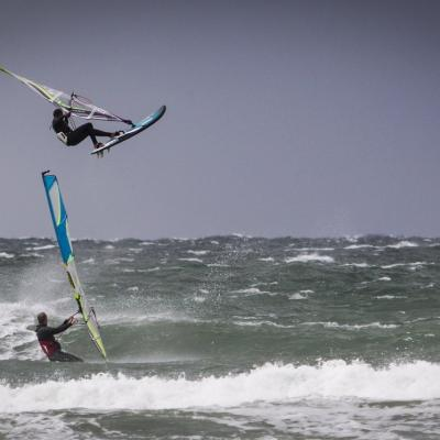 Windsurfing in Northjutland